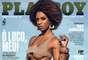 Capa da edição de maio da revista Playboy com ensaio fotográfico de Ivi Pizzott