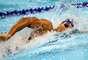Em dia dourado para natação no Pan, equipe de revezamento levou ouro, Thiago Simon venceu 200 m peito e João de Lucca bateu recorde nos 200 m livre