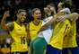 Com caras novas, mescladas com campeãs como Jaqueline e Fernanda Garay, Seleção Brasileira sofre para vencer Peru na estreia do Pan. Terra mostra reações e ângulos diferentes da partida
