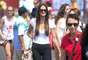 Público aproveitou sol deste sábado para curtir as competições do Parque do Pan-Americano, em Toronto