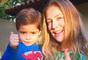Luana Piovani vai passar uma temporada em São Paulo durante as filmagens do longa-metragem 'O Homem Perfeito', mas não poderá levar o filho Dom, de 4 anos, que terá que ficar na ponte aérea por causa da escola