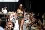 Desfile da grife moda praia Água de Coco no SPFW 2016