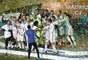 La celebración del Real Madrid al ganar Mundial de Clubes