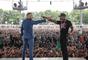 Conor McGregor e Floyd Mayweather se encaram em Toronto, Canadá