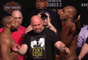Daniel Cormier e Jon Jones se encaram antes de revanche no UFC 214