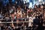 Floyd Mayweather comemora vitória por nocaute contra Conor McGregor