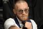 Conor McGregor durante bastidores de superluta