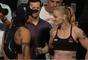 Amanda Nunes e Valentina Shevchenko se encaram em pesagem do UFC 215