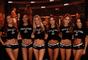 Time de Ring girls abrilhantou o UFC 216, em Las Vegas (EUA)