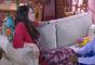 Cecília (Bia Arantes) deixa Fabiana (Karin Hils) em choque ao dizer que irá sair para jantar com André (Bruno Lopes), na novela 'Carinha de Anjo'