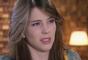 Cecília (Bia Arantes) recusa a declaração de amor de André (Bruno Lopes), na novela 'Carinha de Anjo'