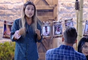 Flávia Vianna discutiu com Marcos Härter durante o jogo 'Queimando o Filme' em 'A Fazenda 9'