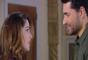 Noivos, Cecília (Bia Arantes) e Gustavo (Carlo Porto) já pensam em como será a vida a dois depois do casamento, na novela 'Carinha de Anjo'