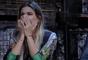 Flávia se emociona ao saber que estará na final de 'A Fazenda' com Marcos Härter e Matheus Lisboa