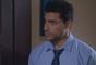 Gustavo (Carlo Porto) demonstra tensão, mas não conta para Cecília (Bia Arantes) sobre os problemas da empresa, na novela 'Carinha de Anjo'