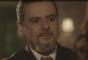 Reinaldo (Cássio Gabus Mendes) dá a boa notícia para Celeste (Marisa Orth) na novela 'Tempo de Amar': 'Como eu já esperava, Celeste Hermínia está curada'