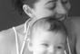 'Felicidade define! Te amo, filha! Estamos juntas sempre e em qualquer lugar desse mundão... Obrigada, papai do céu', declarou Carol Castro