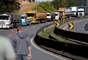 Paralisação de caminhoneiros em Curitiba 21/05/2018 REUTERS/Rodolfo Buhrer