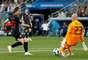 Modric leva perigo ao gol da Argentina