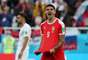 Mitrovic comemora gol da Sérvia