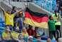 Alemães, que já tinham ingresso para o jogo, comparecem a Suécia x Suíça