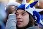 Torcedora chora com a derrota do Uruguai