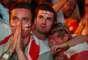 Ingleses ficaram tristes com derrota para a Croácia na semifinal da Copa do Mundo