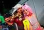 Cosplayers posam para foto na 27ª edição da Animextreme