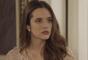 """Em """"O Tempo Não Para"""": Marocas (Juliana Paiva) fica na mira da raiva de Lúcio (João Baldasserini)"""