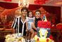Deborah Secco comemorou, ao lado do marido, o ator Hugo Moura, os 3 anos da primogênita em dezembro de 2018. A festa foi produzida com o tema 'Alice no País das Maravilhas'