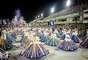 Ensaio da União da Ilha na Sapucaí, neste sábado (23), a uma semana do desfile