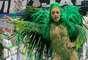 Dani Bolina no desfile da Unidos de Vila Maria no Carnaval 2019.