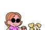 Dorinha - Uma das mais novas integrantes da turma, ela é cega, reconhece seus amigos pela voz, pelo cheiro e está completamente enturmada. Antenada na moda, está sempre com roupas fashion, corte de cabelo moderno e óculos escuros. Além disso, segura numa mão sua bengalinha e, na outra, a coleira de Radar, um labrador que a ajuda a se guiar.