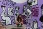 """Tami Lemos, artista, ilustradora e idealizadora do projeto """"Crie como uma garota"""""""
