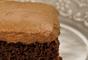 Bolo mousse de chocolate fácil