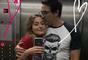 Sasha Meneghel comemorou o Dia dos Pais ao lado de Luciano Szafir