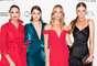 Luiza Brunet, Luciana Curtis, Schynaider e Cintia Dicker: modelos se uniram em prol da filantropia