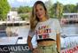 Claudia Leitte homenageou as mulheres em live show