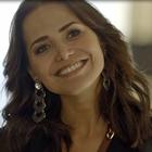 O sorriso mais satisfeito da estrela de 'Segundo Sol'