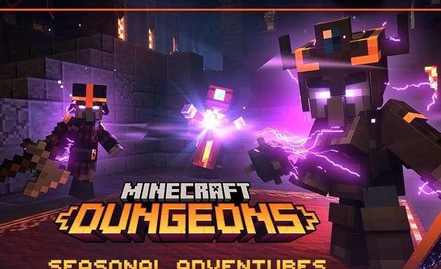 Minecraft Dungeons adotará modelo de temporadas
