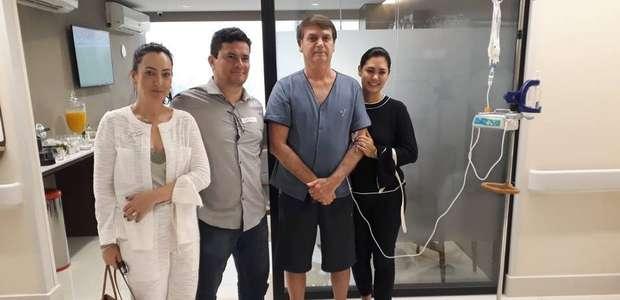 """Sérgio Moro visita Bolsonaro no hospital: """"O homem é forte"""""""