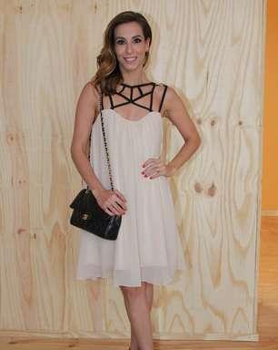Tania Khalill diz que marido é mais ousado para se vestir