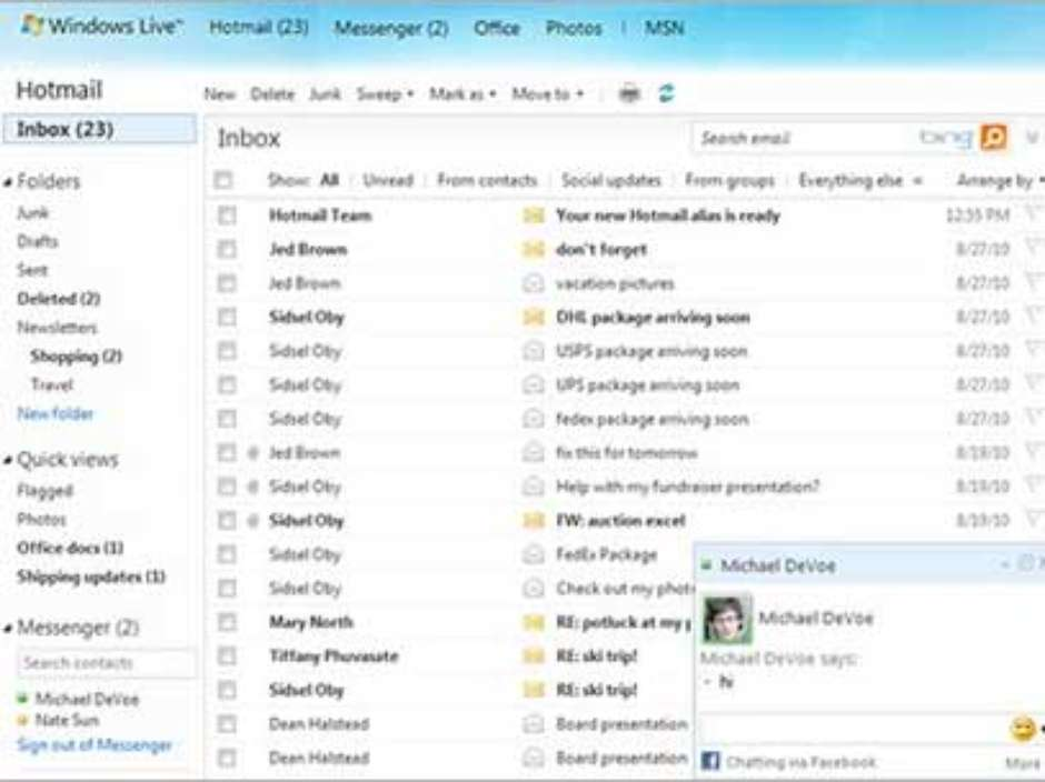 Microsoft encerra hotmail e migra todos usurios para outlook stopboris Choice Image
