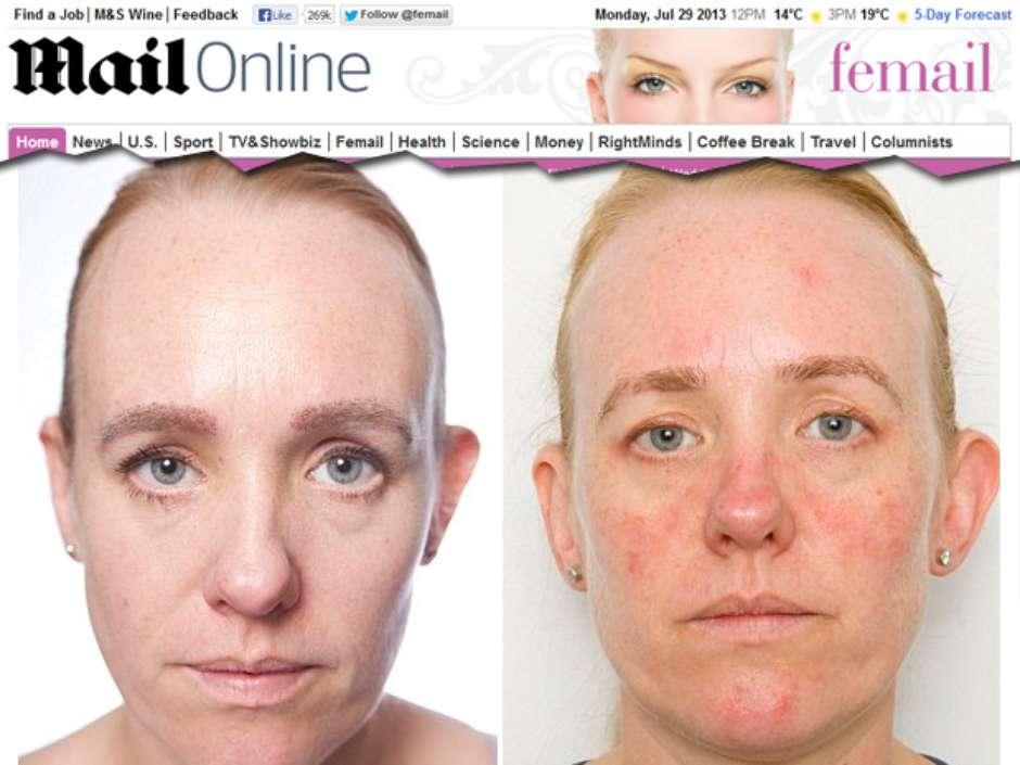 Reporter Fica Um Mes Sem Tirar Maquiagem E Pele Envelhece 10 Anos