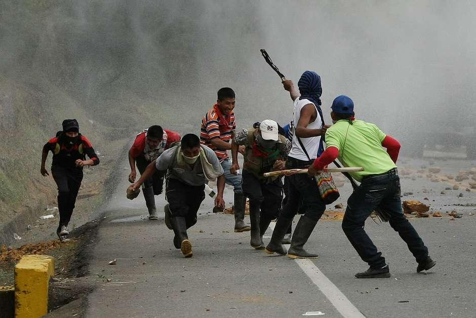 Resultado de imagen para DISTURBIOS EN BUENAVENTURA