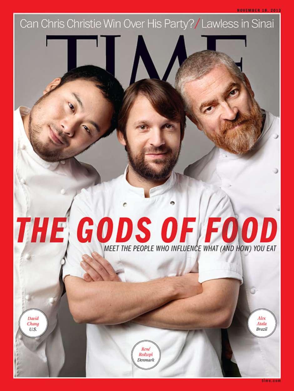 "Alex Atala é chamado de ""deus da comida"" na capa da 'Time'"