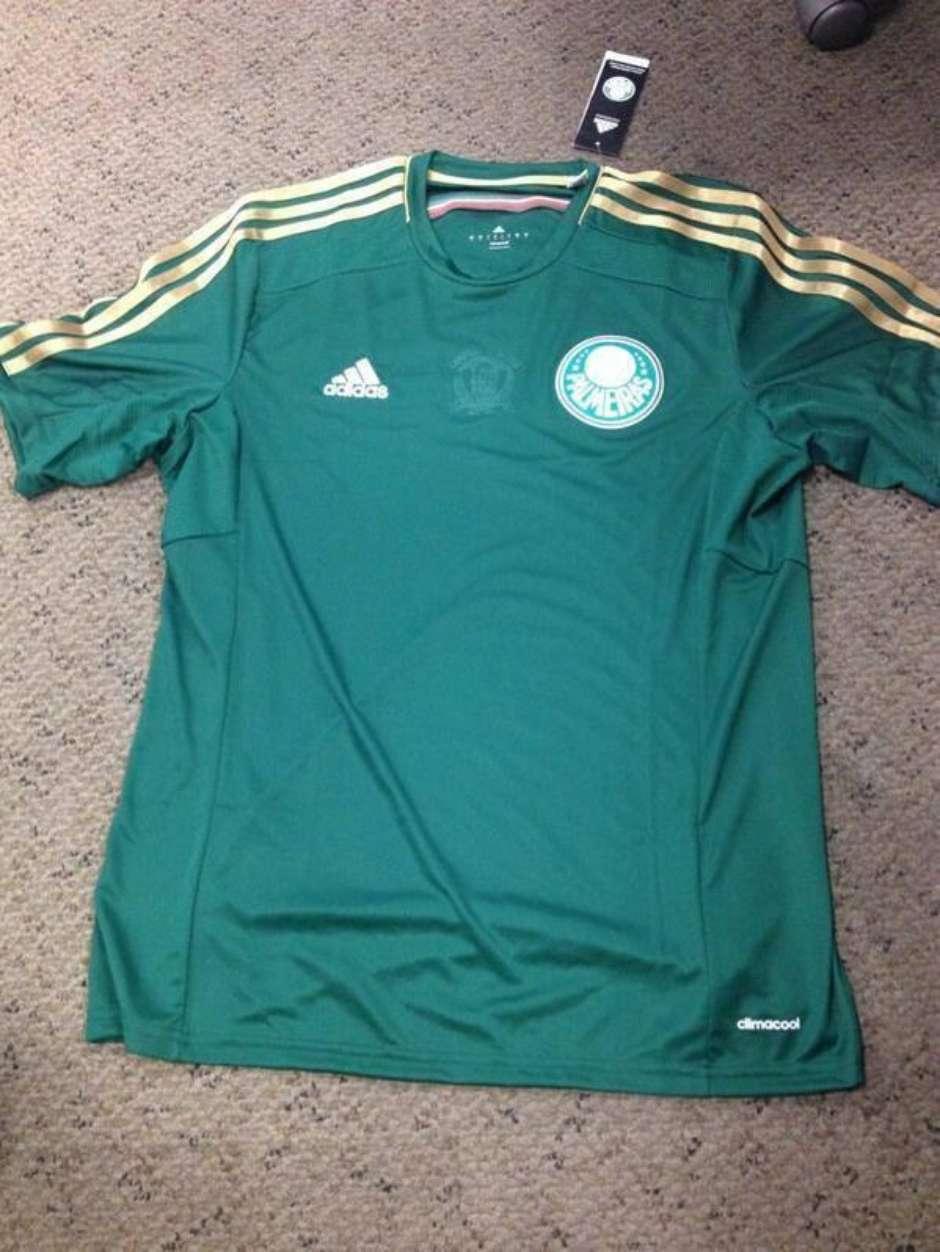 c90d871460 Suposta camisa do Palmeiras para o centenário do clube vaza na internet