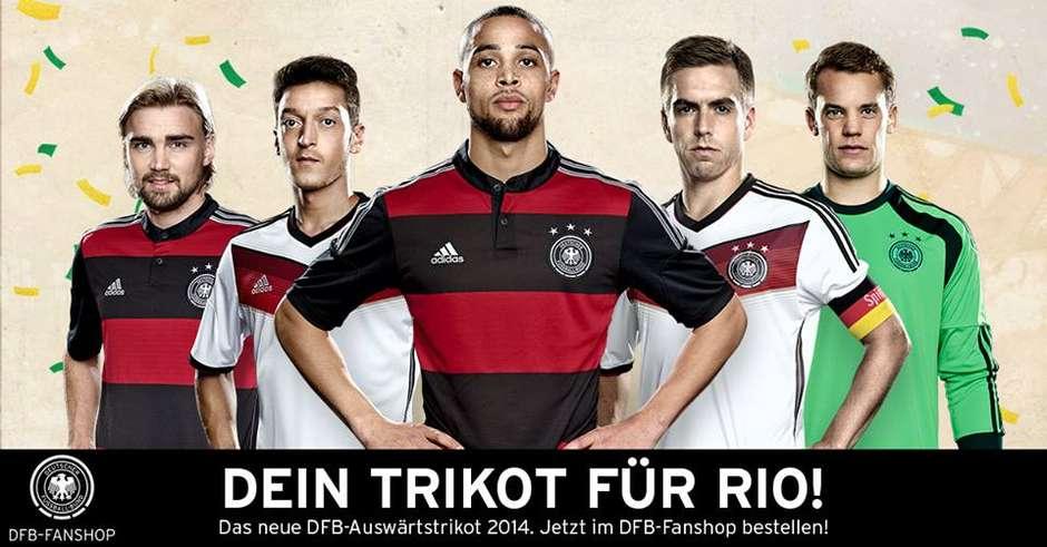 940a91d0e4058 Seleção alemã revela que camisa rubro-negra é inspirada no Flamengo