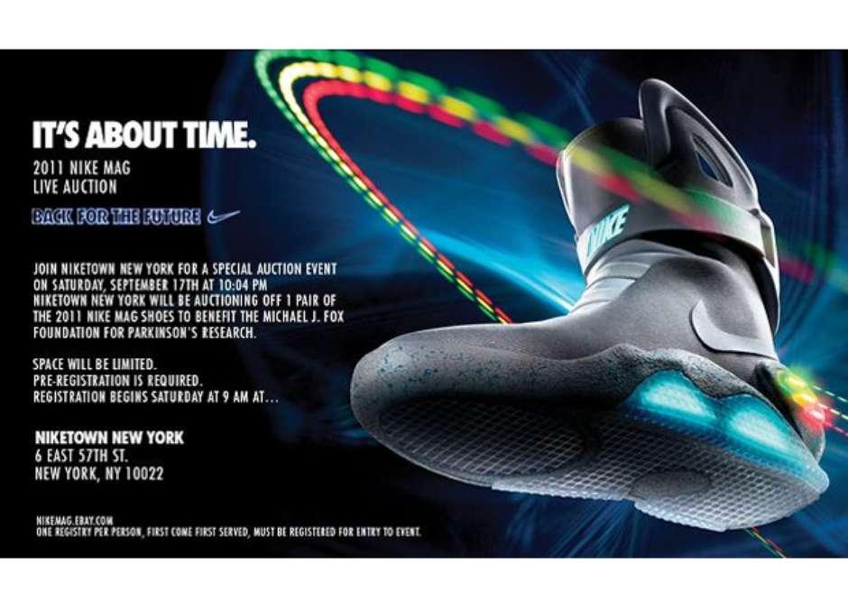 gama muy codiciada de calidad de marca compra original Nike Air Mag Mercadolibre mare-reciclaresahorrar.es