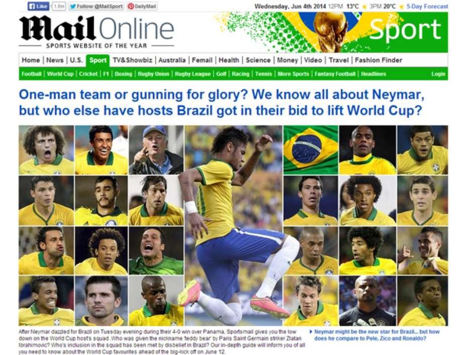 344adc40593e9 Jornal comete gafe e coloca Henrique do Palmeiras na Seleção